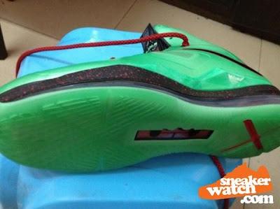 nike lebron 10 gr jade china 3 03 Nike LeBron X Cutting Jade   New Pics & Release Date