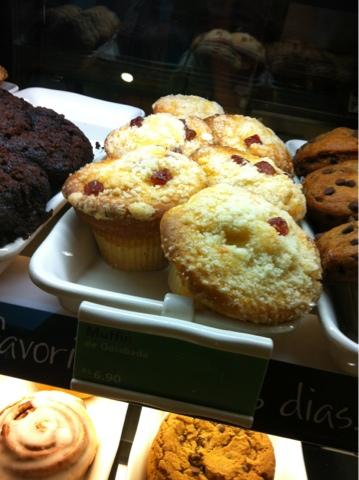Muffin de goiabada, Muffin, docinhos da Starbucks, Starbucks,