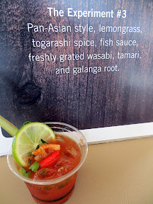 Conger delivered The Experiment #3 with a Pan-Asian style Bloody Mary ...
