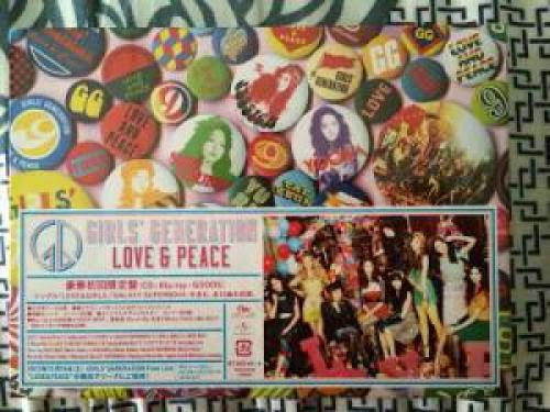 Review Girls Generation 3Rd Japanese Album Love And Peace