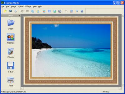 AMS Framing Studio 3.41 : Software pembingkai foto