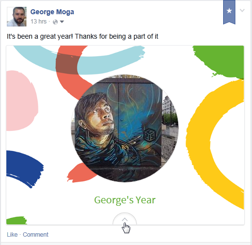 My 2014 Facebook Year in Review
