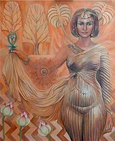 Kamrusepas Goddess Of Healing And Spells Image
