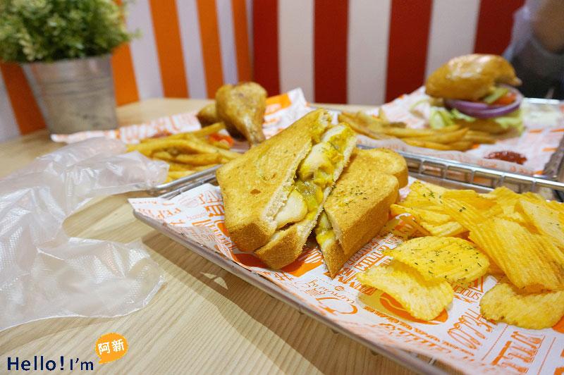 台中美式餐廳,奶油威力-2