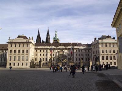 Entrada al Castillo de Praga