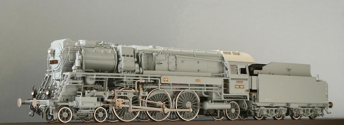 Modeli parnih lokomotiva DRG 01300H-Lv