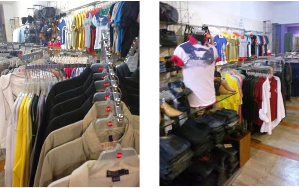 Manila Shopper Tops A Branded Factory Overruns Store