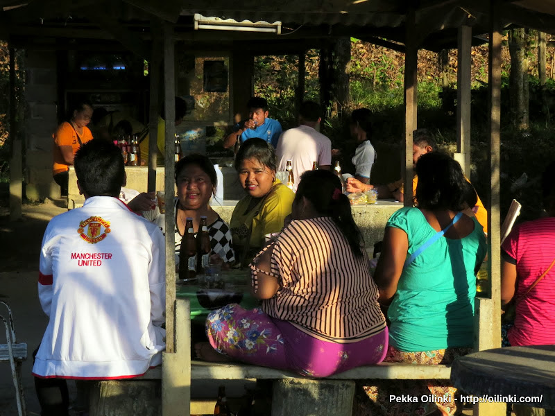 Party at Sea gypsy village - Koh Sire