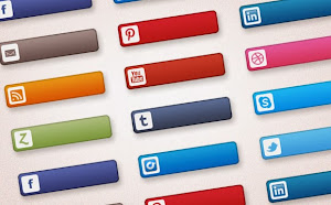 Freebies: Social Media Buttons Set (26 PNG Buttons)
