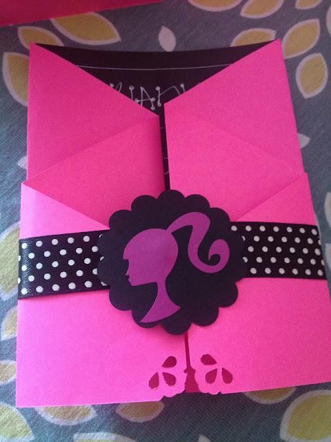 Nayive Torresdepapel Co Invitaciones Barbie Cumpleaños