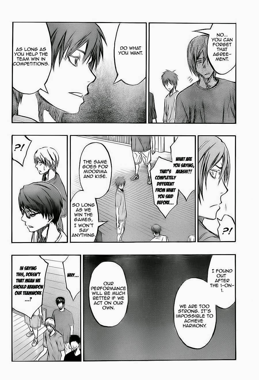 Kuroko no Basket Manga Chapter 221 - Image 14
