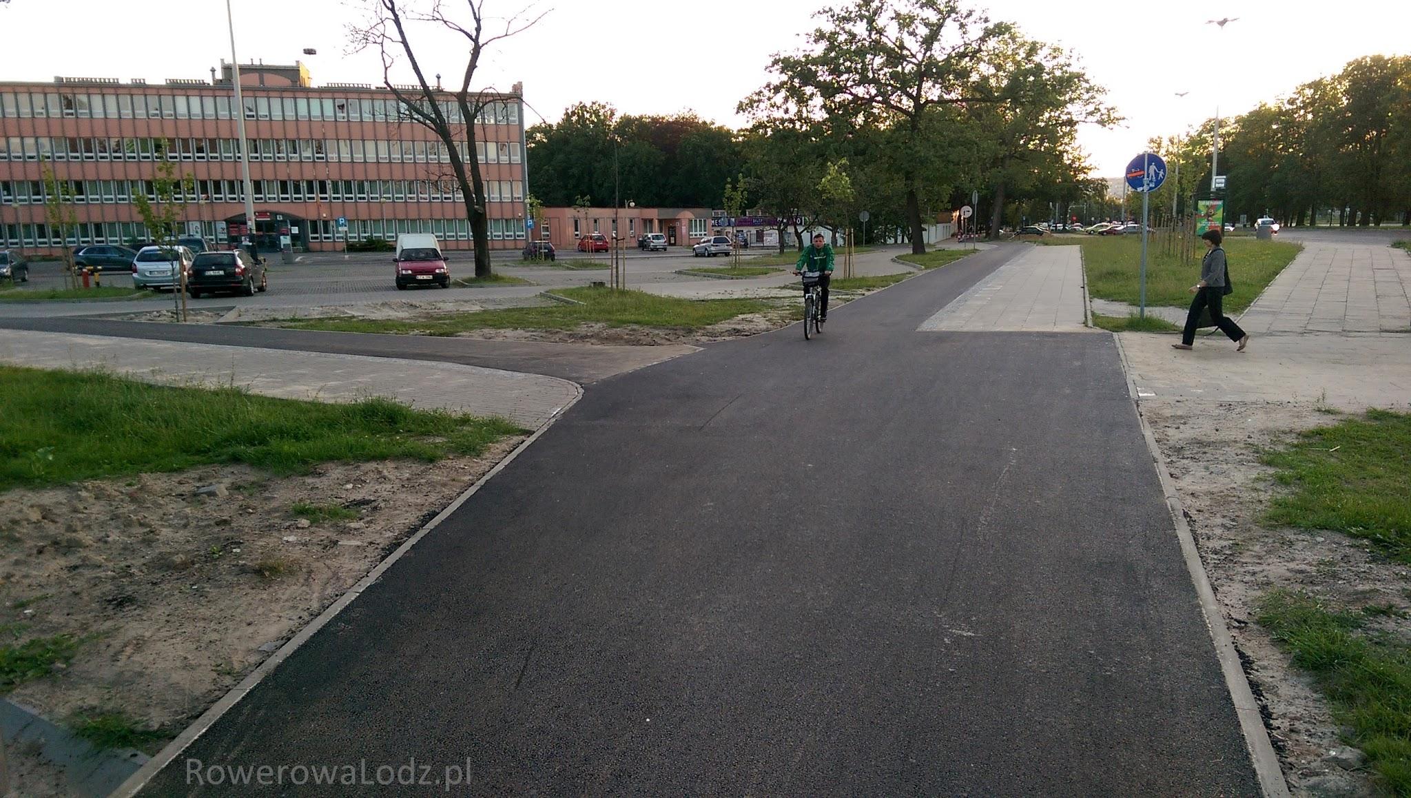 Rozjazd w kierunku ul. Karolewskiej