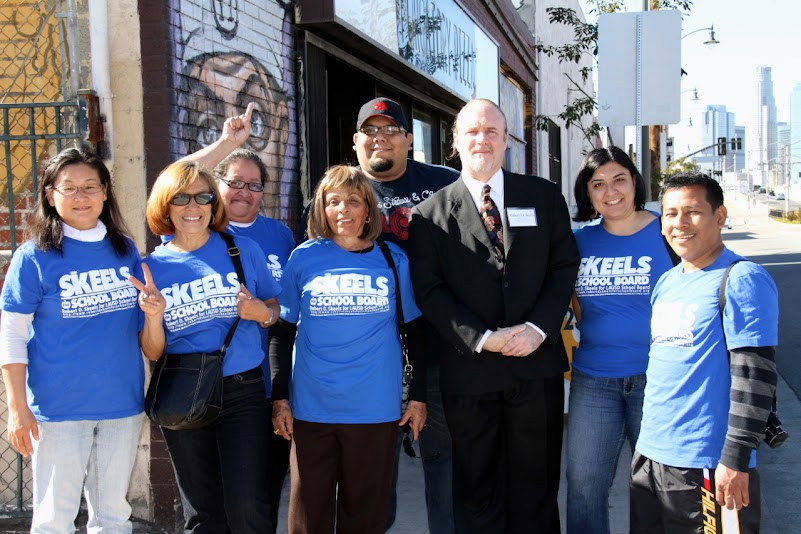 Robert D. Skeels for School Board Campaign's Boyle Heights Precinct Walk