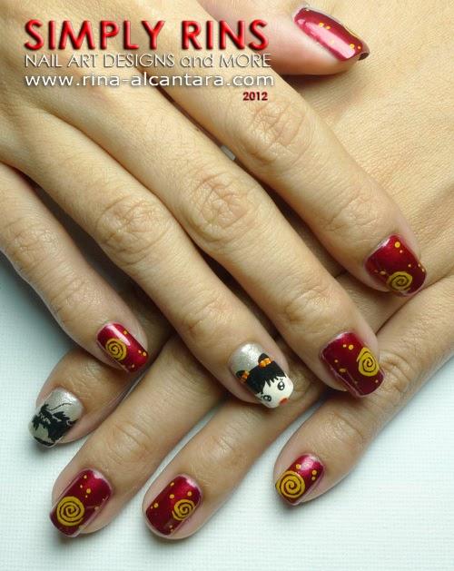 Nail Art: Chinese New Year 2012 | Simply Rins