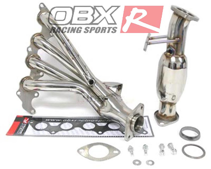 04 05 06 07 08 09 Mazda 3 2 0L 2 3L OBX Exhaust Header Stainless Steel