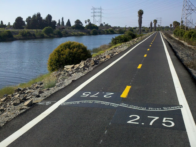 Los Angeles River Ride • San Gabriel River Trail