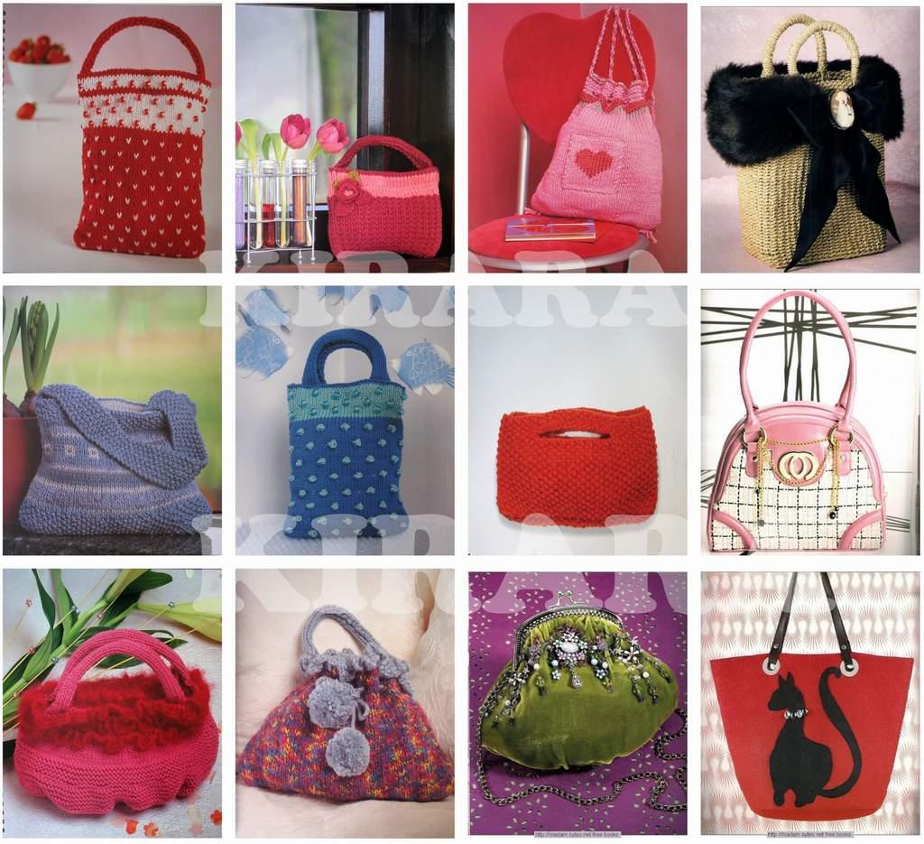 Knitted Artinya : Decorated bags panduan membuat tas unik menarik trendy
