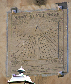 Sizilien - Trapani - Sonnenuhr