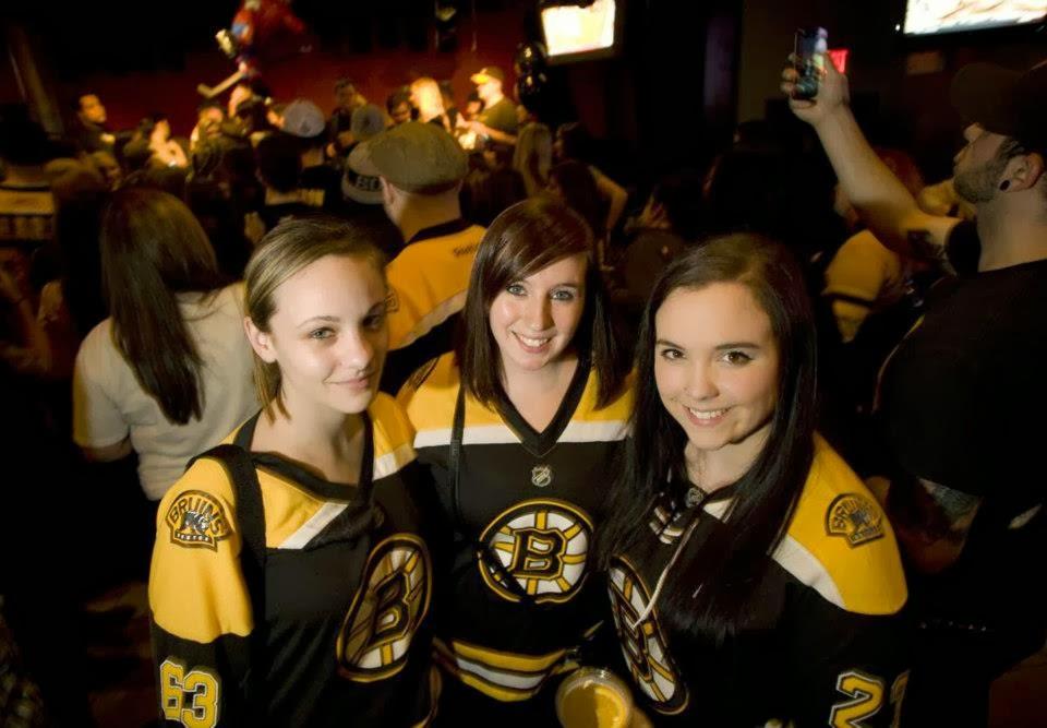 Bruins fans rock