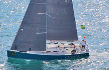 J/122 Otra Vez sailing for Malta in Middle Sea Race