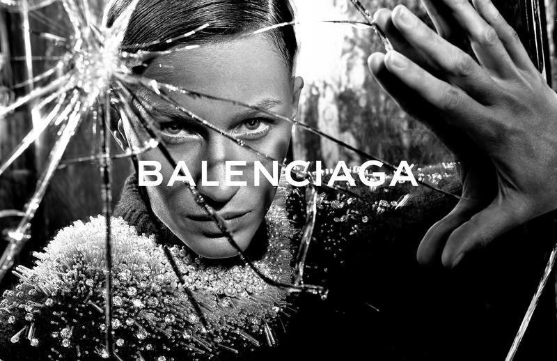 Balenciaga, campaña OI 2014: Gisele Bundchen