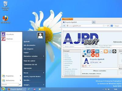 Mostrar botón inicio clásico en Windows 8 con Classic Shell Open Source y ocultar menú de inici metro