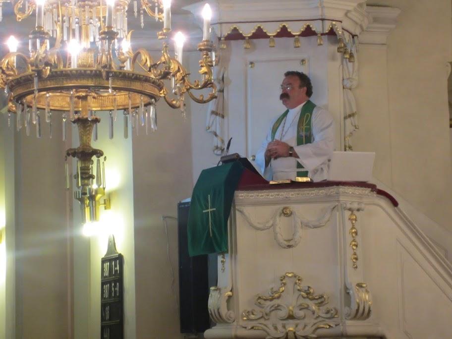 LCMS President Matthew Harrison Delivers Sermon in Prague
