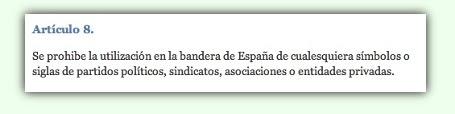 Article Ley de Banderas espanyola