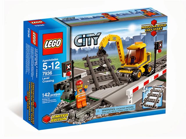 7936 レゴ 踏切
