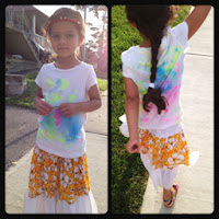 tie dye, crafts, wearable art