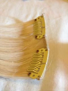 Premium Hair clip-in extentions Leo Bancroft platinum blonde