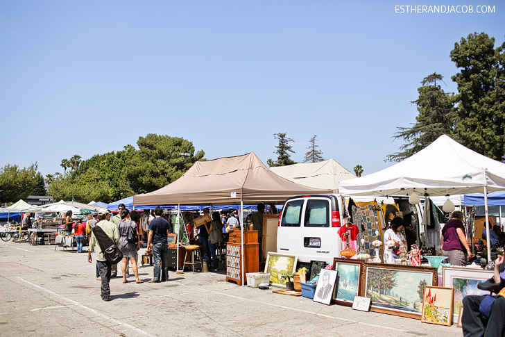 The Melrose Trading Post Flea Market Los Angeles.