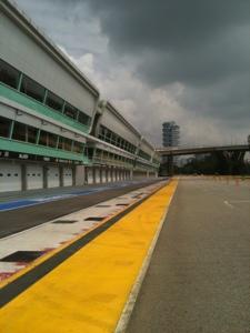 Singapore F1 Pit Photo 6