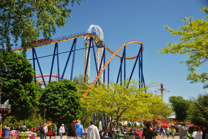 Magnificent rollercoasters at Cedar Point