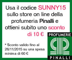 Banner Codice Sconto Pinalli