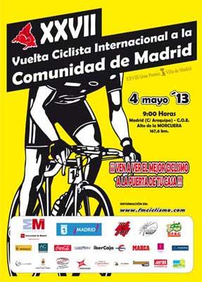 Vuelta Ciclista Internacional a la Comunidad de Madrid 2013