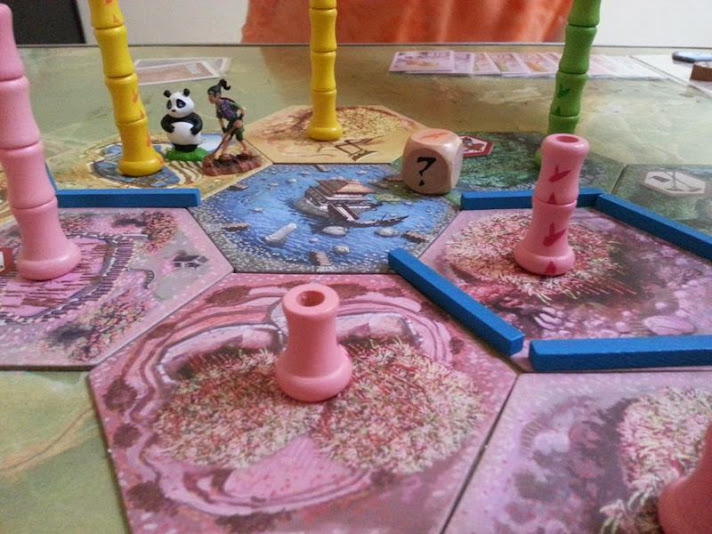 Takenoko. juego de mesa para 2