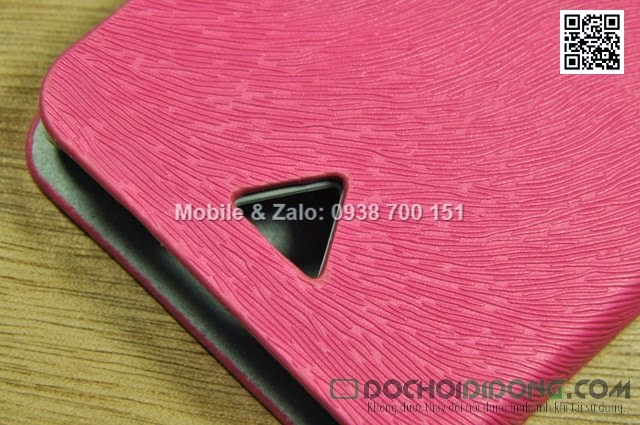 Bao da Oppo Find Piano R8113 da sần dạng flip cover