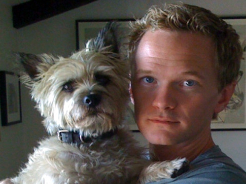 Neil Patrick Harris and a dog