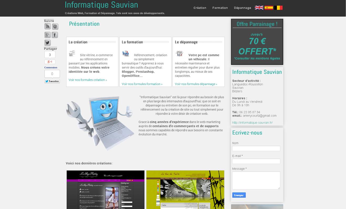 image lien vers Informatique Sauvian