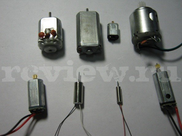 Коллекторные двигатели радиоуправляемых моделей