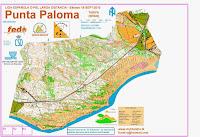 mapa base suministrado por el Juanillo