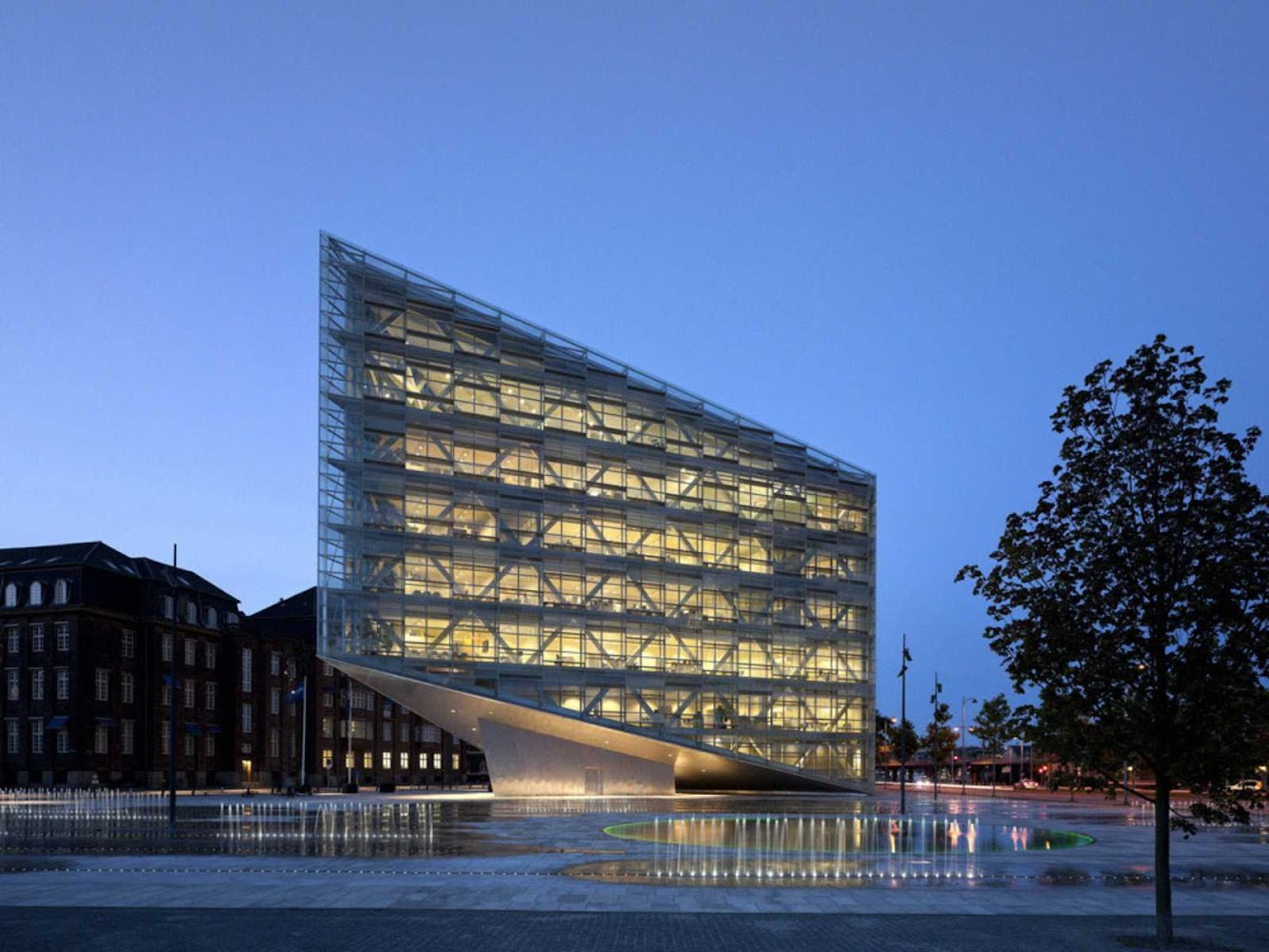 Copenaghen, Danimarca: The Crystal by Schmidt Hammer Lassen Architects