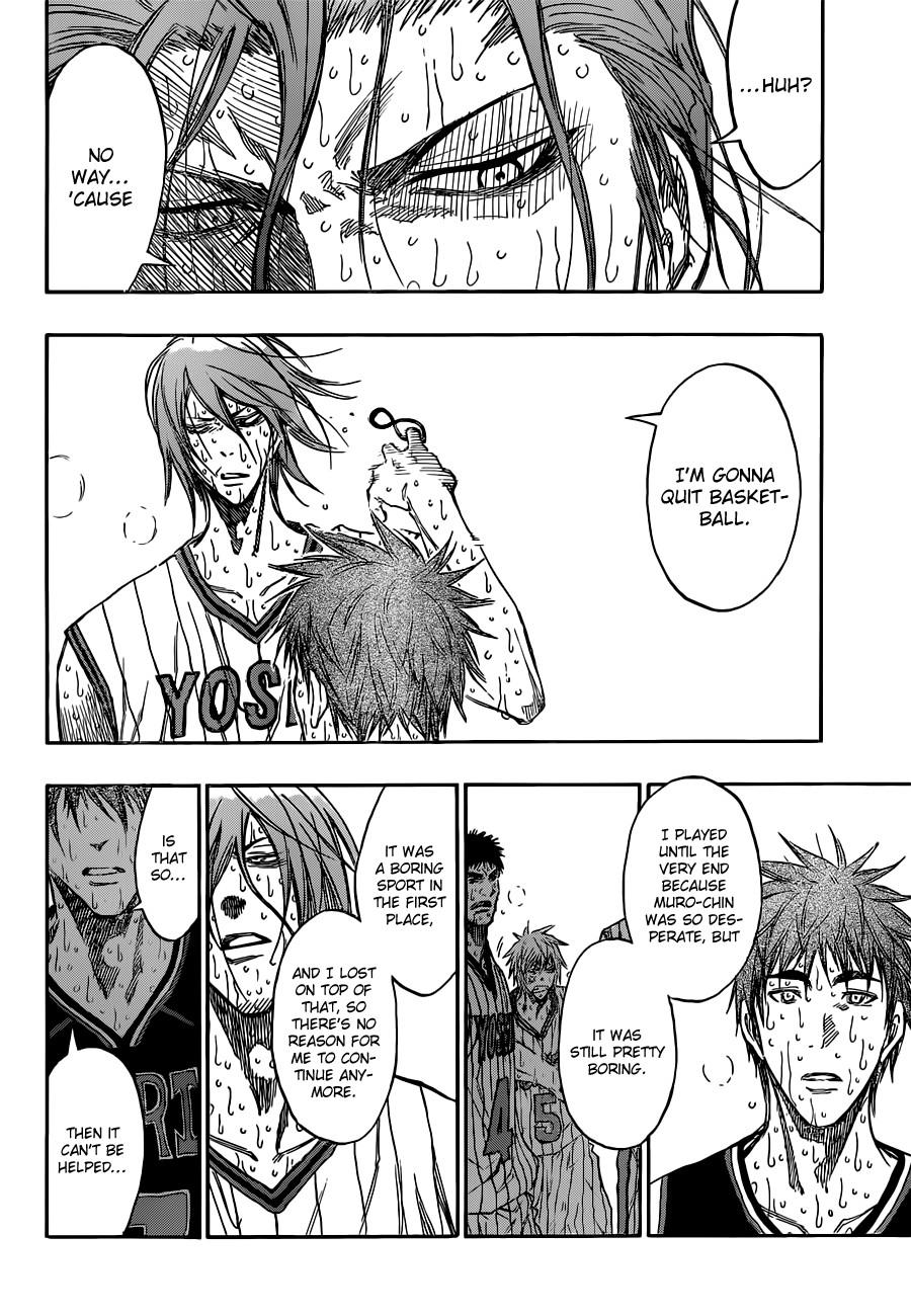 Kuroko no Basket Manga Chapter 169 - Image 08