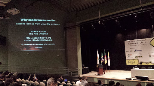 #FISL14: Why conferences matter: Lessons learned from Linux file systems development 2