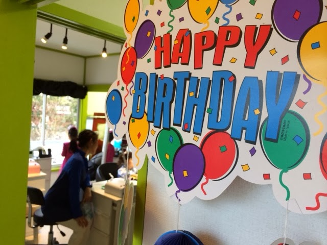 15 years in Japan, Gaijin mom: Nail salon birthday party, Tokyo