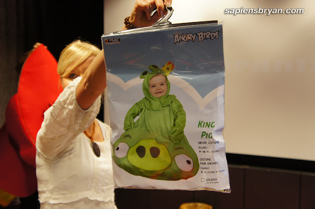 Angry Birds baby costume