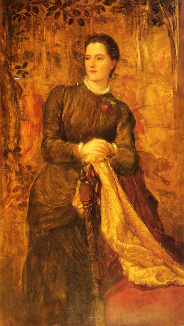 George Frederic Watts - The Honourable Mary Baring