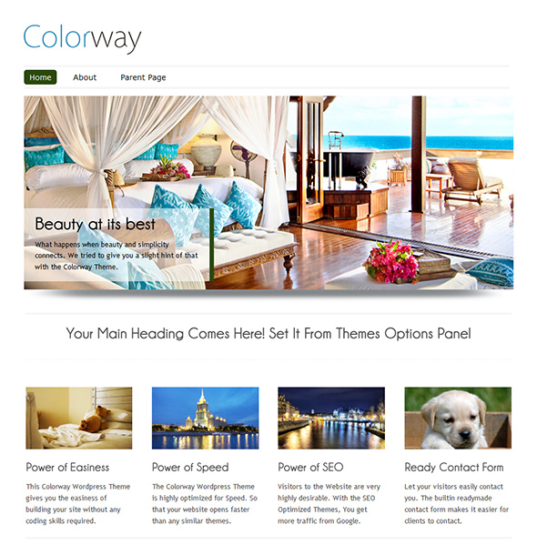 Colorway Free WP Theme