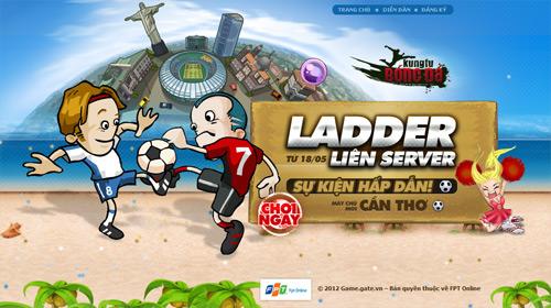 Kungfu Bóng Đá mở đấu trường liên server 2